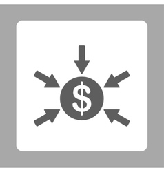 Income icon vector