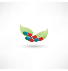 Eco tablets vector