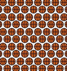 Basketball pattern background vector