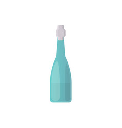 design alcohol bottle in vector image