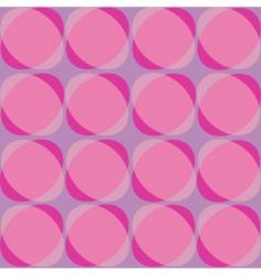 pastel retro background vector image vector image