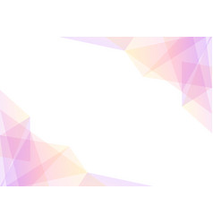 Pink and yellow geometric spectrum abstract backgr vector