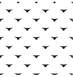 thongs pattern vector image