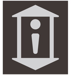 Lift icon vector