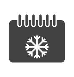 Winter season vector