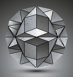 Complicated dimensional spherical element created vector