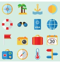 Travel and rest vector