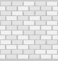 white old brick seamless vector image