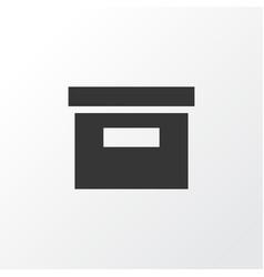 Archive icon symbol premium quality isolated base vector
