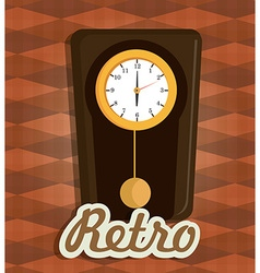 Time digital design vector
