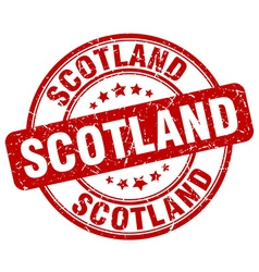 Scotland stamp vector