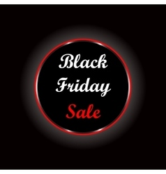 black friday hot sale vector image vector image