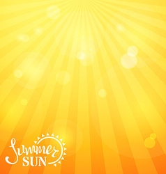 Bright square sunny background vector image
