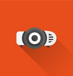 projector icon vector image vector image
