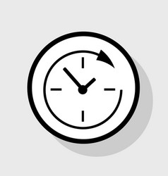 service and support for customers around the clock vector image vector image