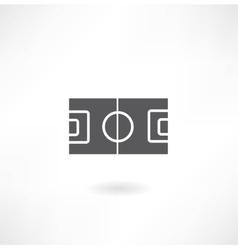 Gridiron icon vector