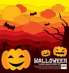 Halloween Concept EPS10 vector image vector image
