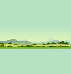 Summer season country banner vector