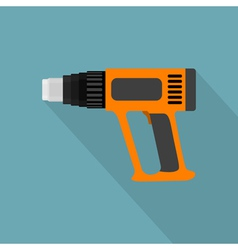 Flat industrial dryer vector