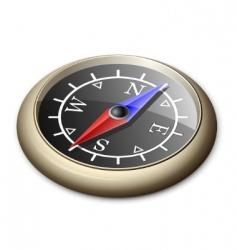 Brass compass vector