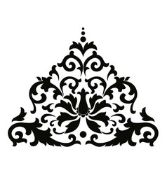 asian style ornament vector image vector image