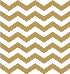 Beautiful gold and white chevron pattern vector image vector image