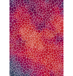 Vertical abstract background with voronoi vector