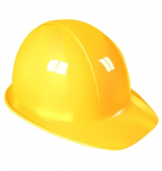 Work helmet vector