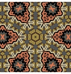 Creative ornamental mosaic pattern vector