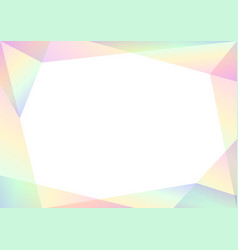 Geometric spectrum abstract background vector