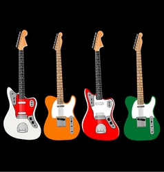 Guitar set vector