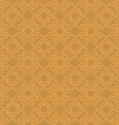 Brown seamless geometric pattern vector