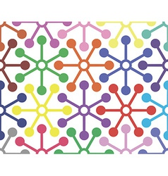 Abstract pattern circle vector