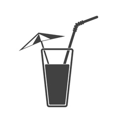 alcohol drink icon Cold vector image
