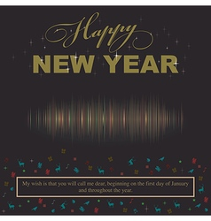 New Year concept call lover and wish will call me vector image vector image