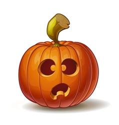 Pumpkins funny 4 vector
