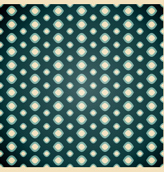 seamless geometric pattern on dark background vector image vector image