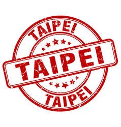 Taipei stamp vector