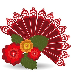 Flamenco design vector