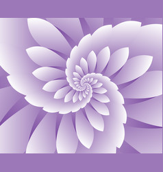 Abstract purple floral background vector