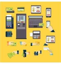 E-commerce set vector