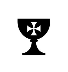 Holy grail cup vector