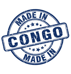 Made in congo vector