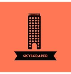 Skyscraper building vector