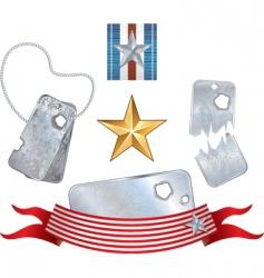 War symbols vector