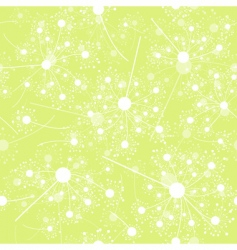 seamless dandelion pattern vector illustration vector image