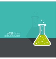 The concept of chemical science research vector