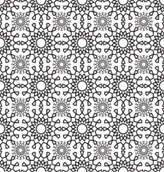 Lace pattern geometric seamless vector