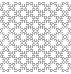 Seamless geometric patterns set Grey and white vector image vector image