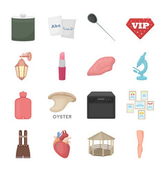 Entertainment health education and other web vector